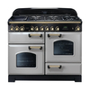 Rangemaster 114480 (CDL110DFFRP/B) CLASSIC DELUXE 110cm Dual Fuel Cooker in Royal P/B
