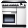 Rangemaster 98740 (PDL90EIWH/C) PROFESSIONAL DELUXE 90cm Induction Range Cooker,  White