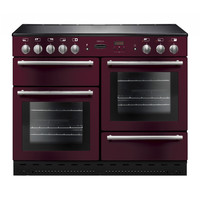 Rangemaster ARL110EICYC (106490) 110cm Induction Range Cooker in Cranberry/Chrome