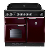 Rangemaster CLAS100EICY/C 106550 CLASSIC 100cm Induction Cranberry/Chrome