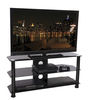 Tru Vue TRU1000-BK Black Glass Stand Up To 55