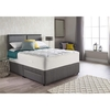 Furniture Myers Extra Latex Comfort 1800 Mattress & Base Divan Set - choice of bases and fabric colours (Fabric Colour: Granite, Storage Type: No Storage, B