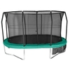 Trampolines Evostar 14ft x 12ft  Oval Trampoline and Enclosure