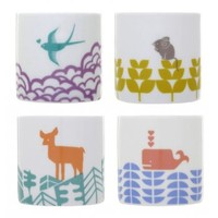 Tableware|Personalised Gifts  - Abode Set of Four Egg Cups
