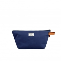 Cosmetic & Toiletry Bags  - Sandqvist Cleo Navy Washbag SQA657