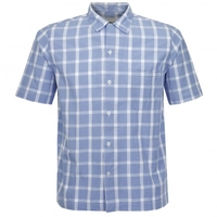 Casual Shirts  - Universal Works Road Beach Blue Shirt 16677
