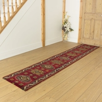 Carpets, Mats & Accessories  - Brink & Campman 80/20 Wool Hallway Runner - Emir Red 10521