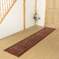 Carpets, Mats & Accessories  - Brink & Campman 80/20 Wool Hallway Runner - Emir Red 10622