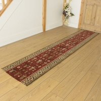 Carpets, Mats & Accessories  - Brink & Campman 80/20 Wool Hallway Runner - Kashmir Red 76744