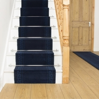 Carpets, Mats & Accessories  - Brink & Campman 80/20 Wool Stair Runner - Hellas Blue 10803