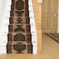 Carpets, Mats & Accessories  - Brink & Campman 80/20 Wool Stair Runner - Sultan Beige 10707