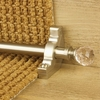 Carpets, Mats & Accessories Crystal Satin Nickel Finish Rose Plain Stair Carpet Runner Rods