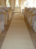 Carpets, Mats & Accessories Plain - Cream Wedding Aisle Carpet Runner