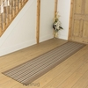 Carpets, Mats & Accessories Primos Beige Stripe Hall Runner