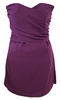 Women's Fashion Liquorish Purple Bustier Dress