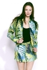 Women's Fashion Liquorish Tropical Love Summer Bomber Jacket