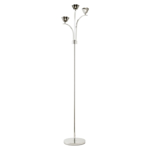 Floor lamps  - Endon Waltz 3 Light Floor Lamp Chrome