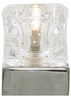 Ice Cube Touch Lamp Polished Chrome/Clear