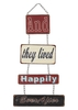 Metal Happy Ever After Wall Art