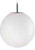 Searchlight Atom Large Light Opal Ceiling Light