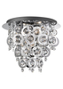 Searchlight Nova 3 Light Semi Flush Ceiling Light
