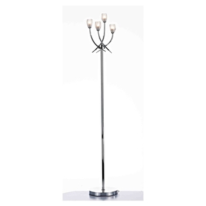 Lighting  - Spike 4 Light Floor Lamp