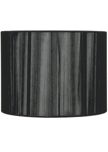 "Accessories  - String 16"" Pendant Light Shade Black"
