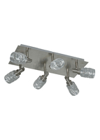 Ceiling lights  - Wire 6 Spotlight Ceiling Light Silver