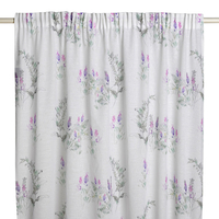 Shower Curtains  - - Herbario Gathered Net Curtain