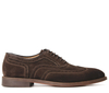 Heyford Suede Brown Brogue Shoe