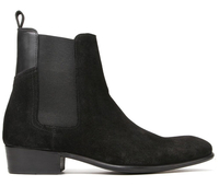 Boots  - Watts Suede Black Chelsea Boot
