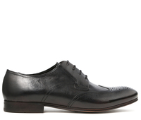 Boots  - Williston Black Brogue Shoe