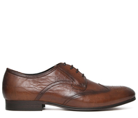 Boots  - Williston Tan Brogue Shoe