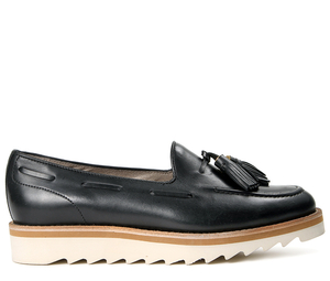 Low Shoes  - York Black Loafer