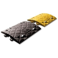 Office & School|Paper, Writing Pads etc.|Safety & Security  - Speed Ramp 4mph Inner Section Pair PVC Reflectors Yellow Black