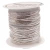 Arts & Crafts Supplies 10m Spool, Fine Crimpable Chain - Silver Plated