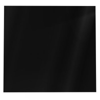 Kitchen Equipment & Furniture  - 80cm Glass Splashback Black