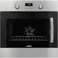 Ovens  - Built-in Single Oven Multifunction Stainless Steel - Left Hand Hinged