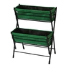 VegTrug™ Poppy Go! 2-Tier Planter (Dark Green)