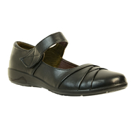 Shoes  - Bella Black Mary Jane Shoe