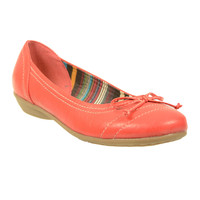 Shoes  - Cory Red Ballerina Shoe