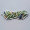 Strings & Pants Parrot Ivory Print Cotton Eyemask