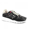 Shoes Womens Black & Grey R900 Winter Floral Sneakers