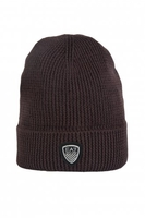 Hats  - EA7 by Emporio Armani Beanie Hat in Navy Blue, Grey and Brown 2755164A394