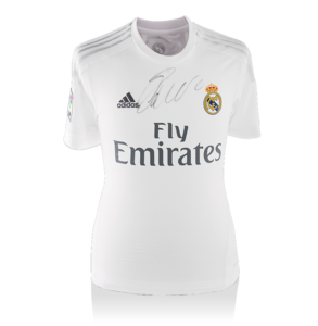 Sports Memorabilia  - Cristiano Ronaldo Front Signed Real Madrid 2015-16 Home Shirt