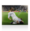 Cristiano Ronaldo Signed Real Madrid Photo: Kneeslide Celebration