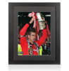 Eric Cantona Signed and Framed Manchester United Photo: 1996 FA Cup Winner