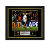 Official FIFA World Cup Steven Gerrard Signed and Framed England Photo