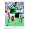Paul McGrath Signed Ireland Print