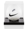 Ryan Bertrand Official England Signed Nike Football in Acrylic Case